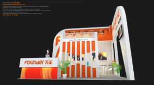 方正微电子-展览设计,展台搭建