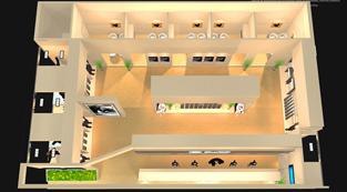 南山纺织-展览设计,展台搭建