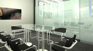 东邦特耐克丝株式会社-展览设计,展台搭建