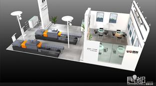 诚科机械-展览设计,展台搭建