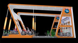 亿航车业公司-展览设计,展台搭建