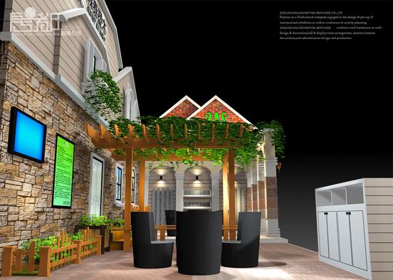 森泰塑木-展览设计,展台搭建