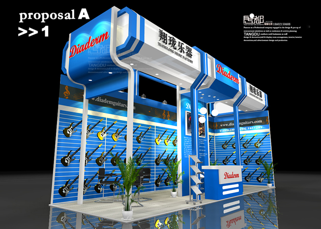 惠州翔珑-展览设计,展台搭建