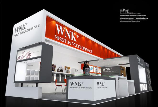 WNK家族-展览设计,展台搭建