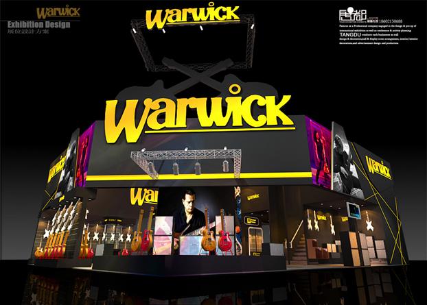 沃威钢琴-展览设计,展台搭建