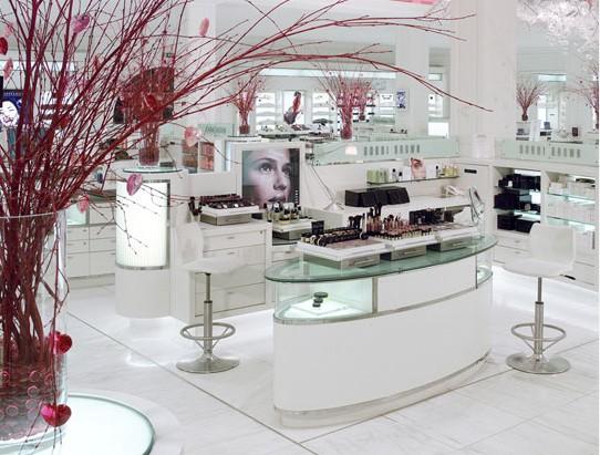 百货化妆品店-展览设计,展台搭建