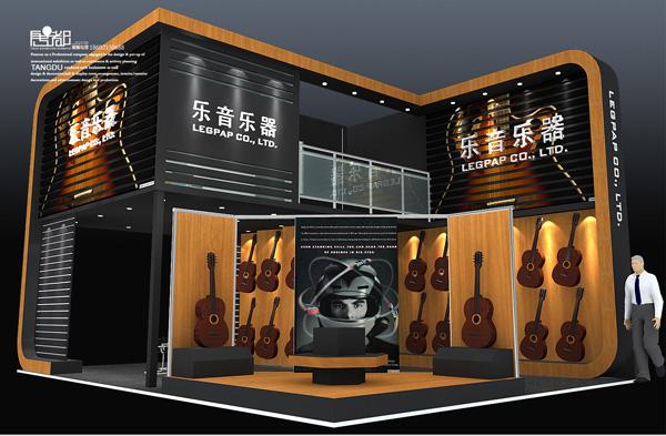 惠州乐音-展览设计,展台搭建