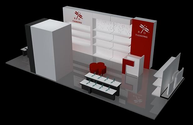红蜻蜓-展览设计,展台搭建