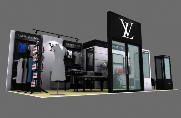 LV-展览设计,展台搭建
