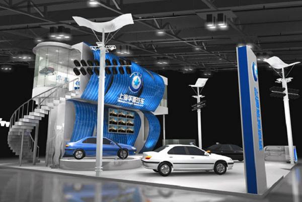 华普汽车-展览设计,展台搭建