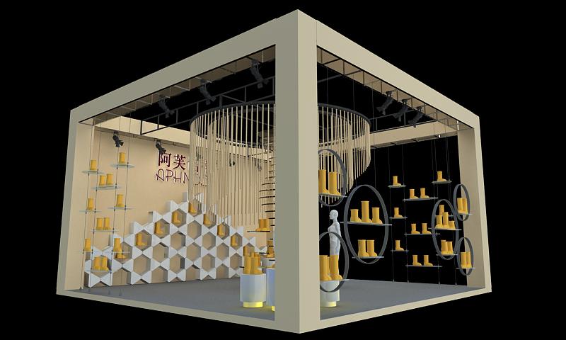 女装店-展览设计,展台搭建