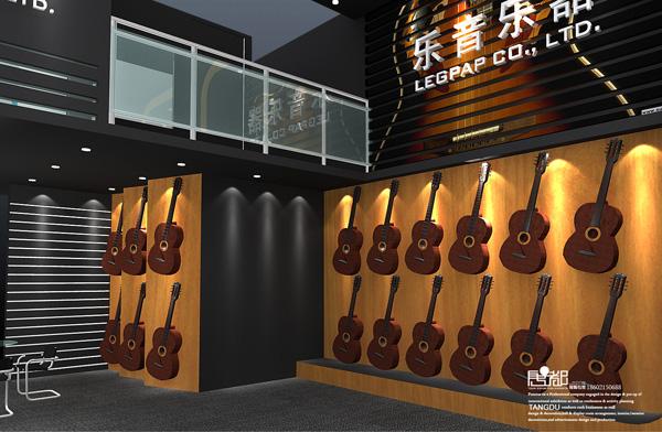 惠州乐音-展览设计,展台搭建|乐器展|唐都文化展陈